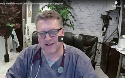 Daily Health Protocol During Coronavirus Epidemic & Beyond